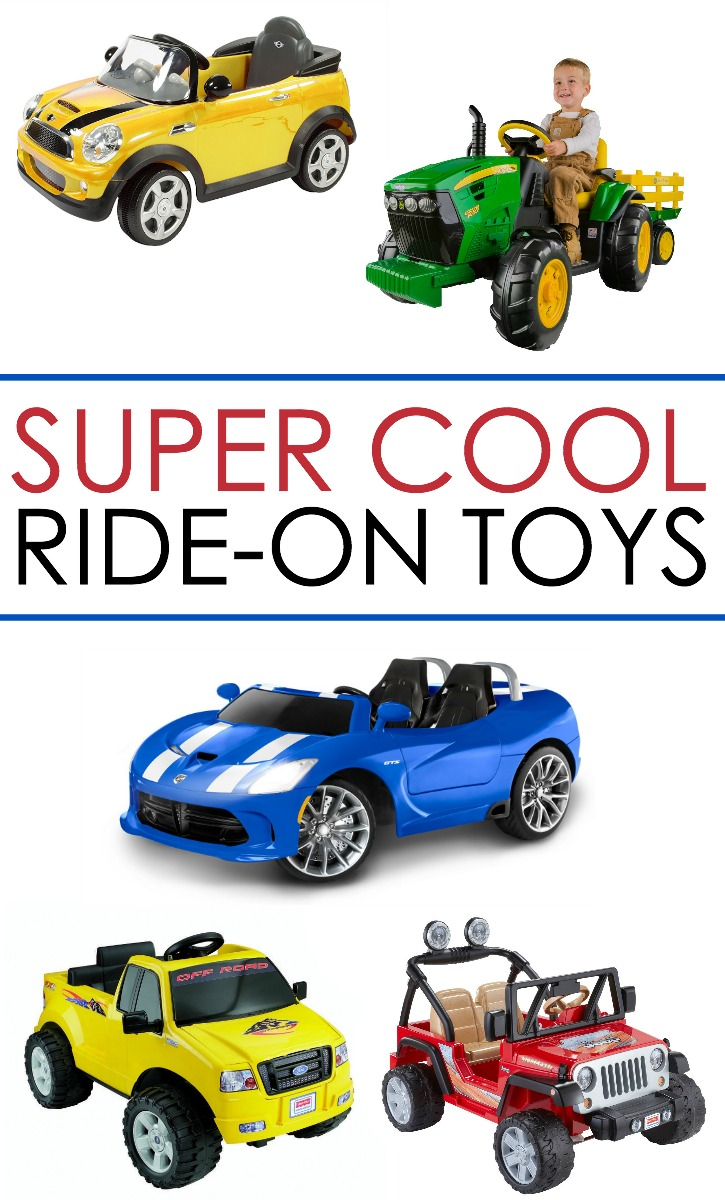 Ride On Toys : Wait til you see these super cool ride on toys written