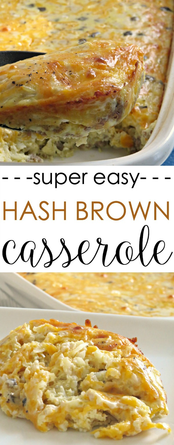 this easy breakfast casserole is a crowd pleasing favorite