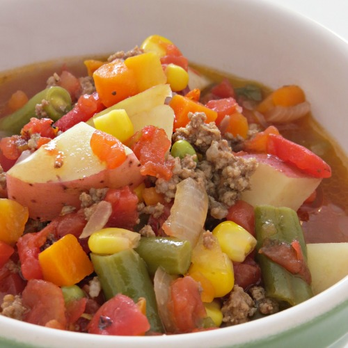 easy hamburger soup recipe