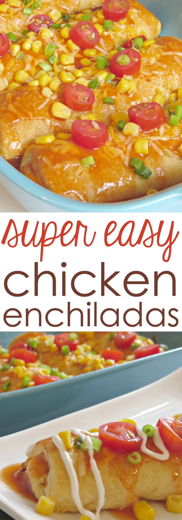 Best Chicken Enchilada Recipe