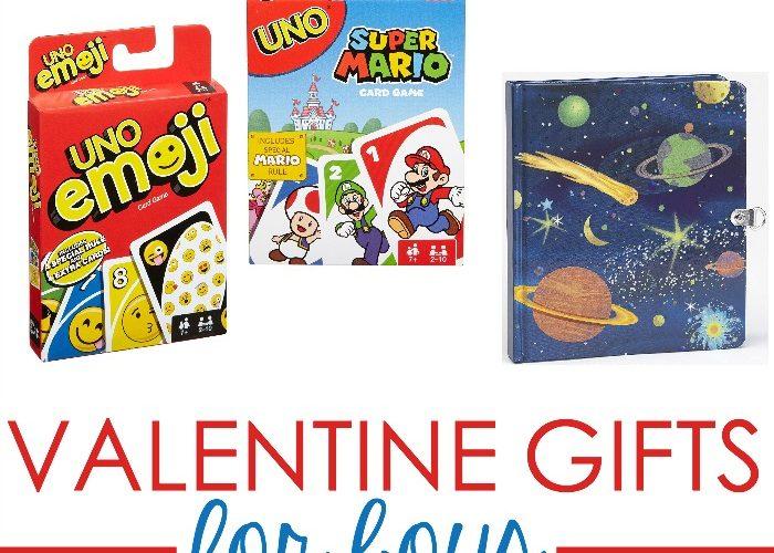 Super Fun Valentine Gift Ideas Boys Will Love, Too!