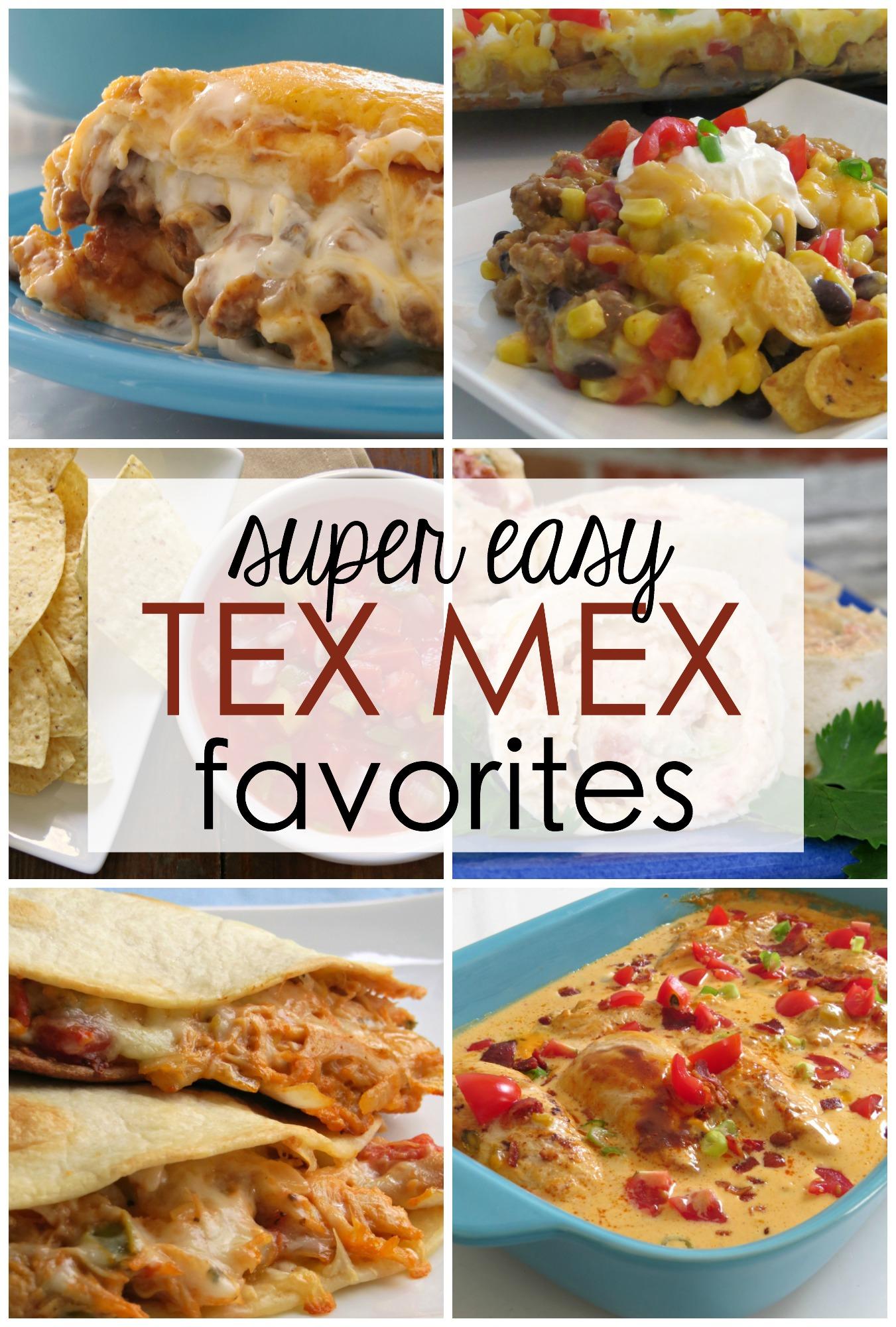 quick easy Mexican recipes