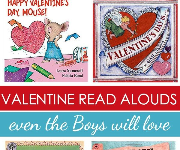 Check Out The Latest Valentine Picture Books!