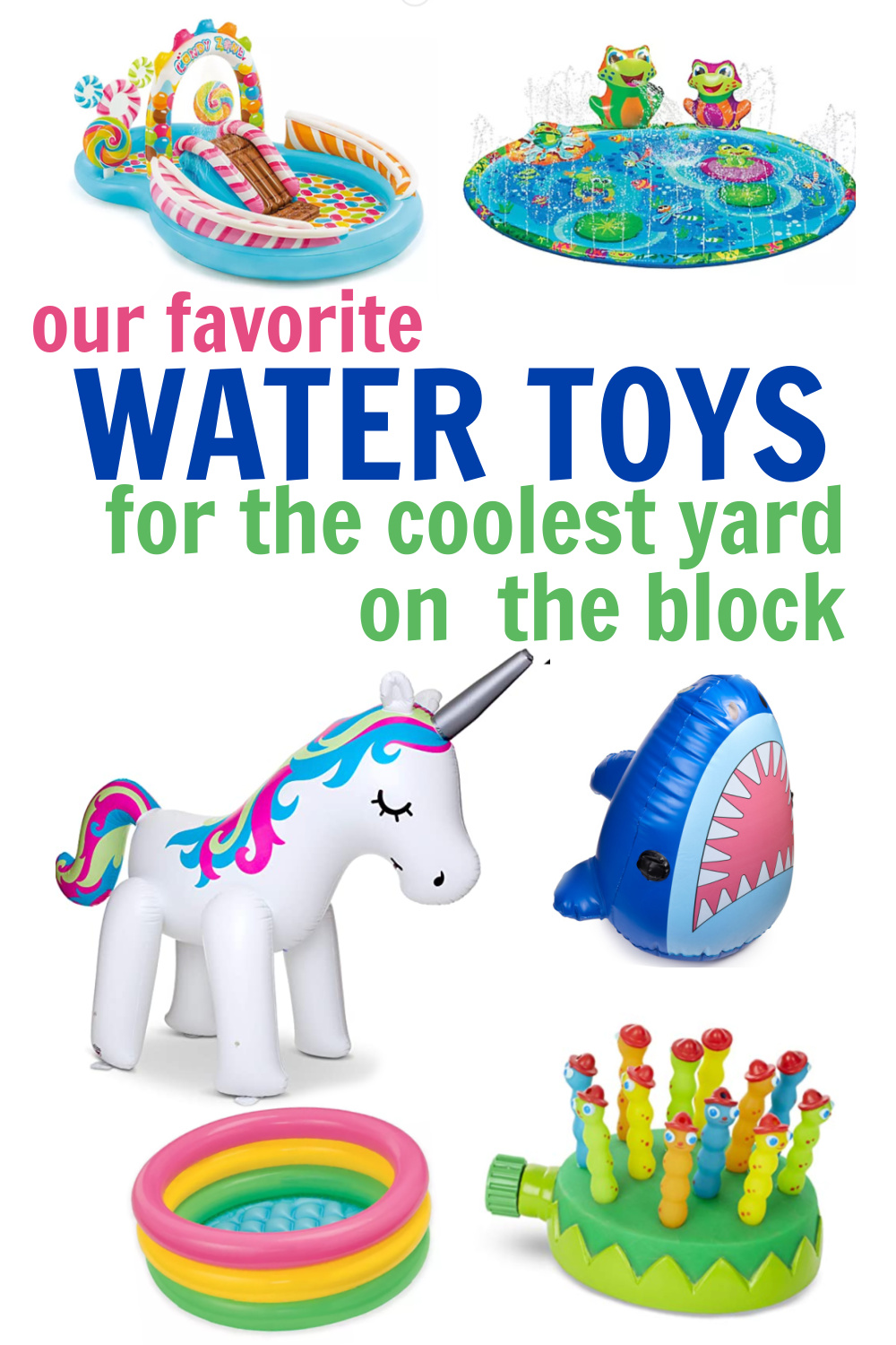 outdoor water toys