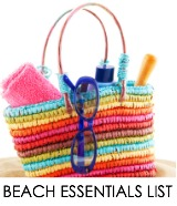 best beach items