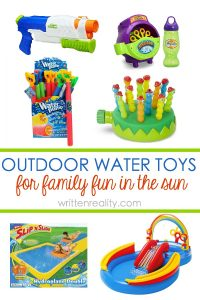 best outdoor water toys