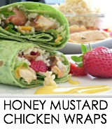 easy chicken wraps