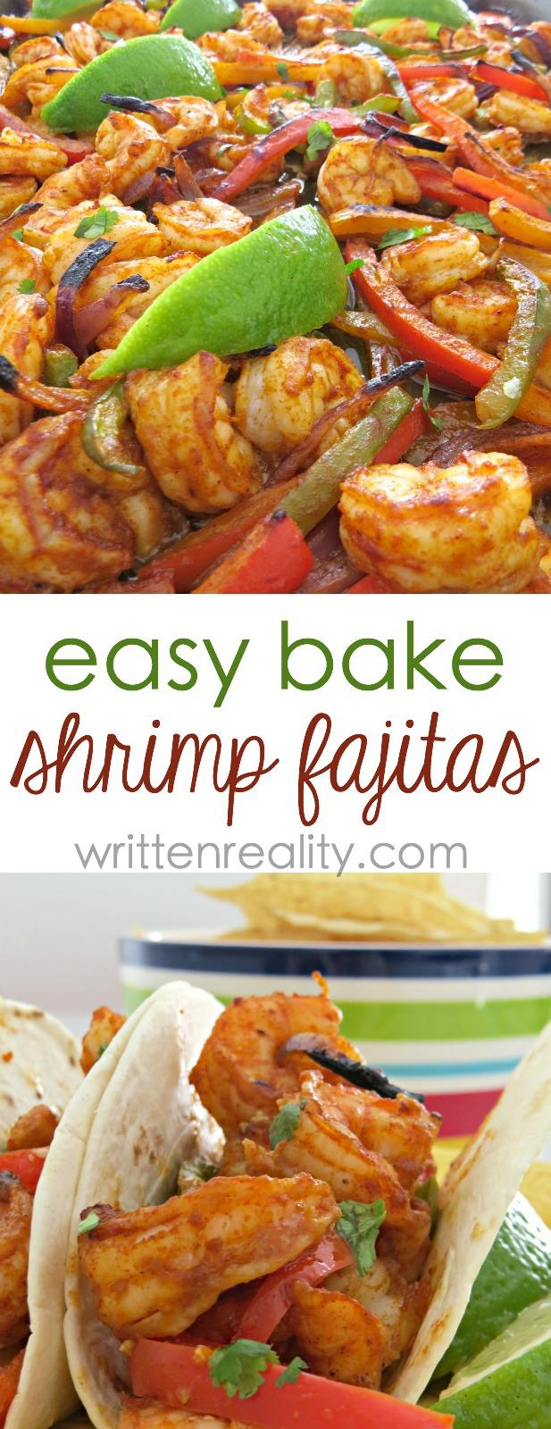 One Sheet Pan Shrimp Fajitas - Written Reality - photo#6