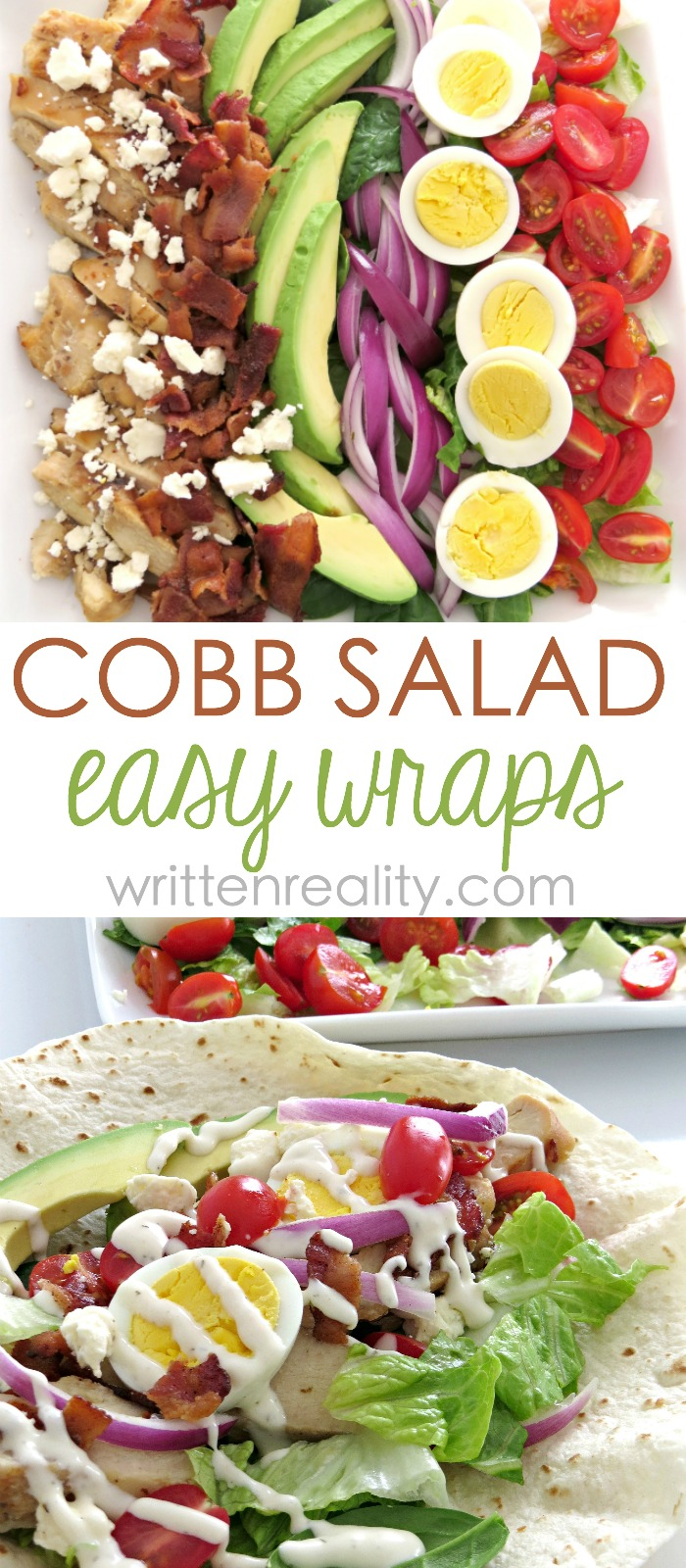cobb salad wrap recipe