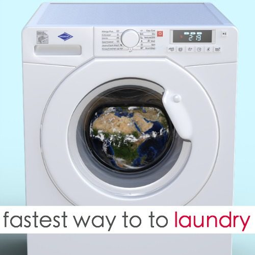 Here's The Fastest Way To Do Laundry