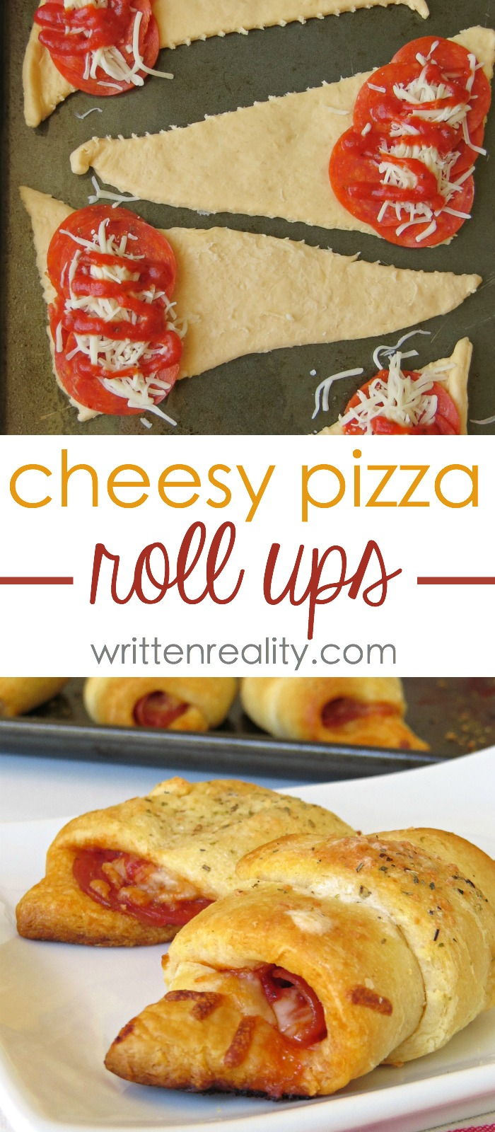 crescent roll pizza roll ups