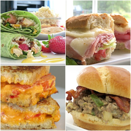 quick easy sandwich recipes