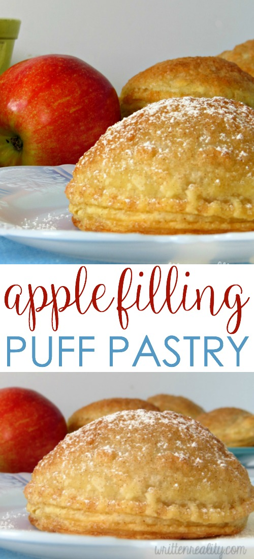 apple filling puff pastry