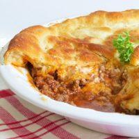 Ground Beef Pie Recipe