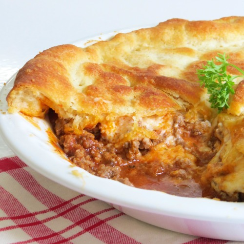 Ground Beef Pie Recipe