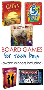 Our Best Board Games for Teen Boys