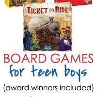 board games for teen boys