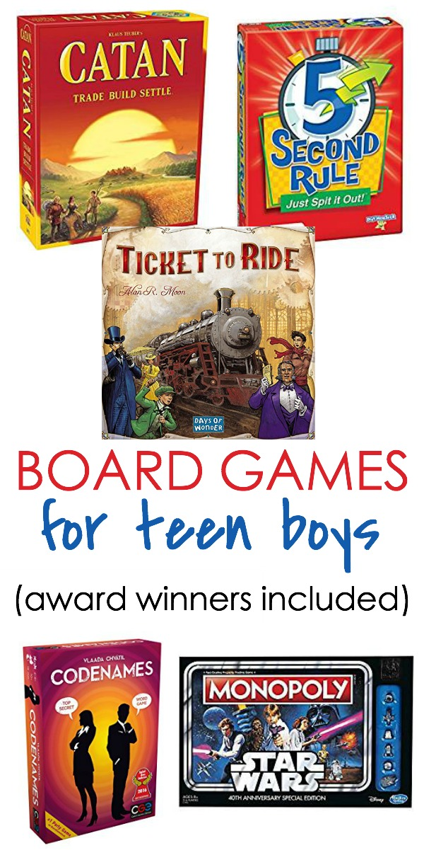 board games for teen boys