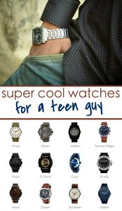 cool watches for teen boys