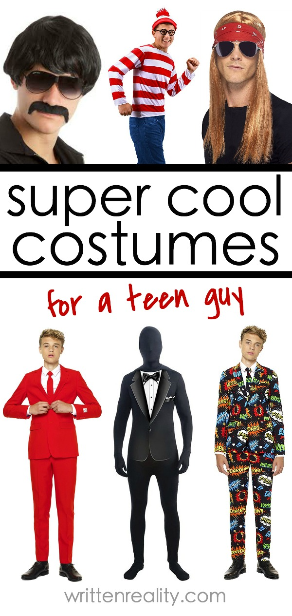 Halloween Costume Ideas For Teen Boys Written Reality
