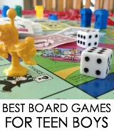 TEEN BOYS board games