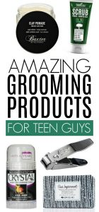 Insanely Brilliant Grooming Products for Teen Boys