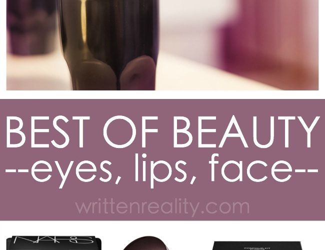Best of Beauty Products 2017 Eyes, Lips, and Face