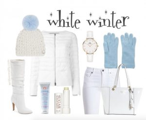 Winter Fashion Women Over 40 in White