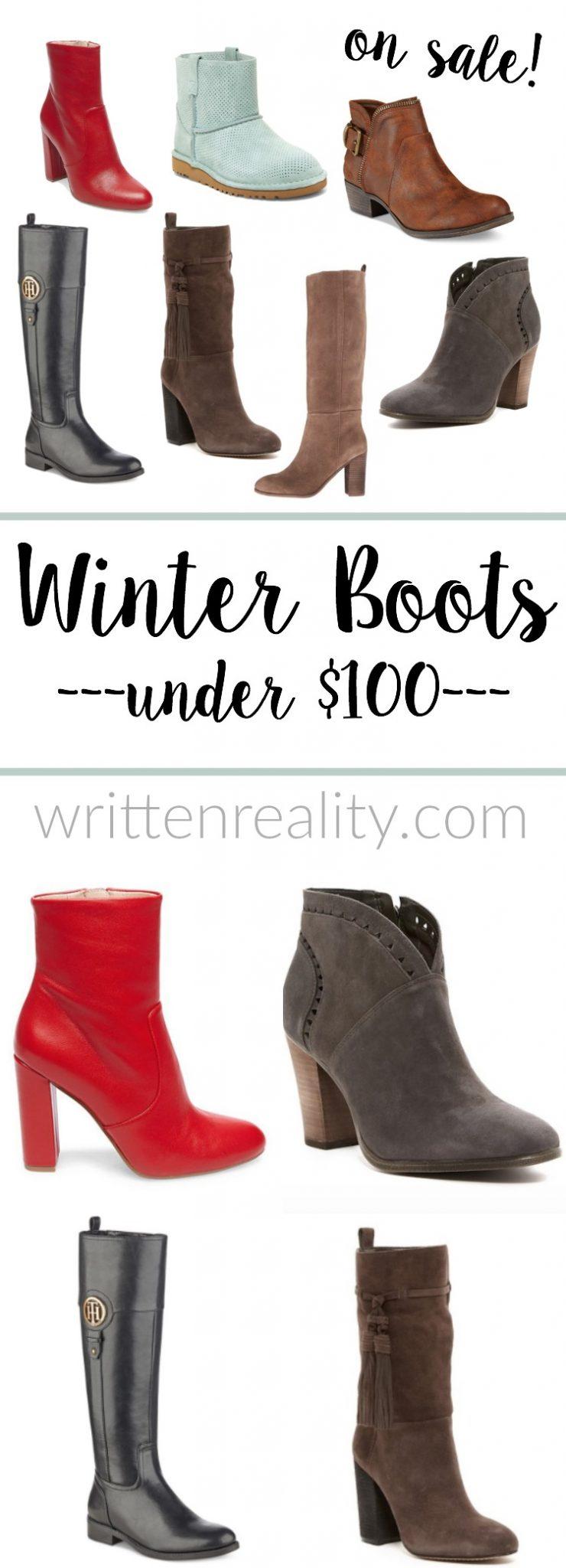 women boots under $100