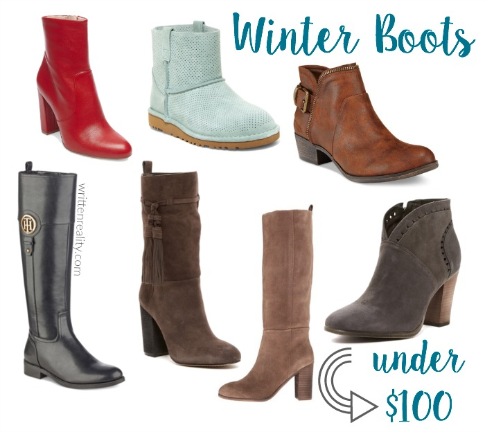 women boots under 100