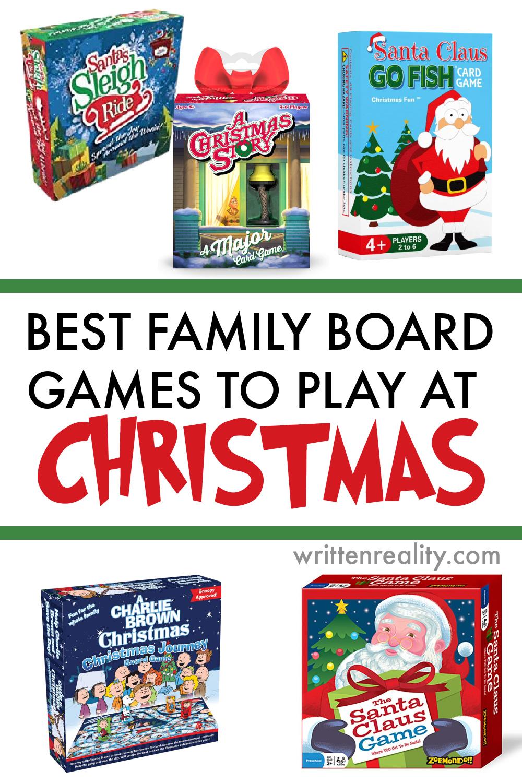 best christmas board games