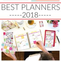 best planners 2018