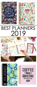 best planners 2019