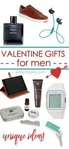 unique valentine gifts for men