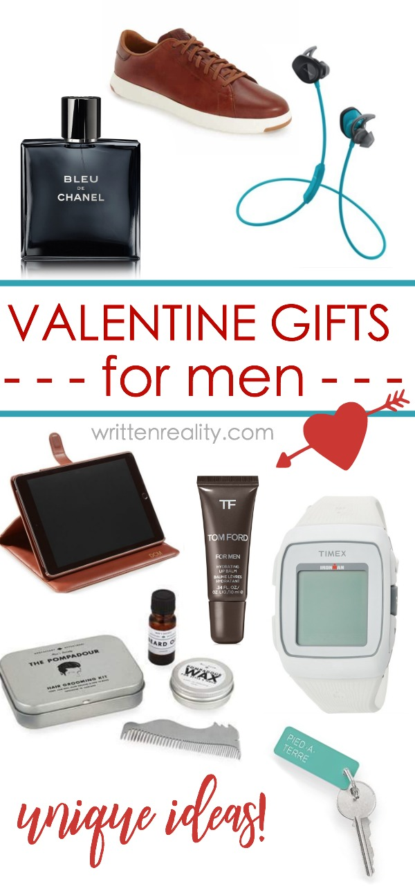 Unique Valentine Gifts Men Will LOVE This Year! 2018 - Written Reality d1997d3101df