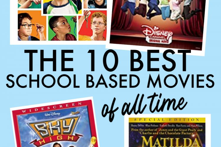 10 BEST Back to School Movies for Family Fun Night