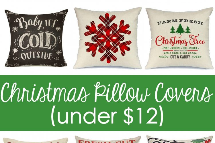 Cheap Christmas Pillow Covers