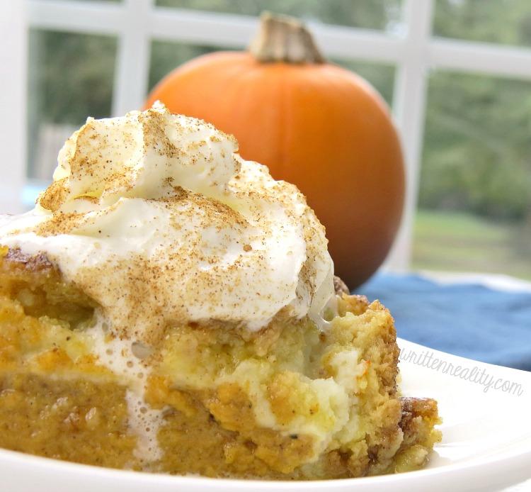 pumpkin cream cheese cake recipe