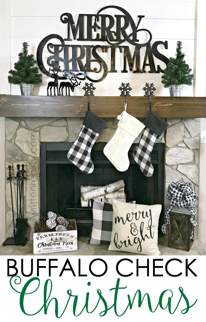 Buffalo Check Christmas Decor.Buffalo Check Christmas Decorations Written Reality