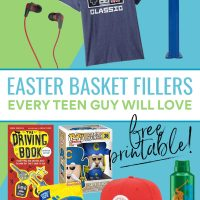 Easter Basket Ideas Teen Guy