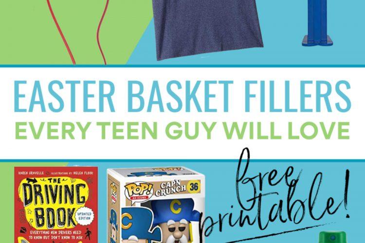 Easter Basket Ideas Teen Boys Will Actually Love!