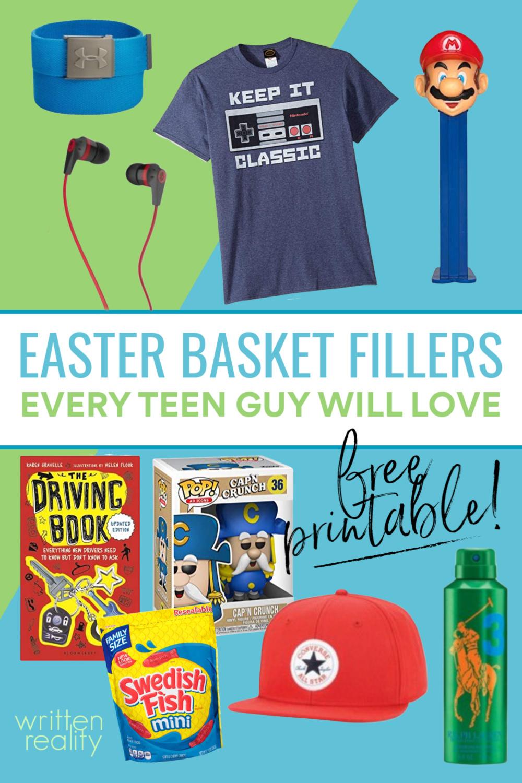 Easter Basket Ideas Teen Guy
