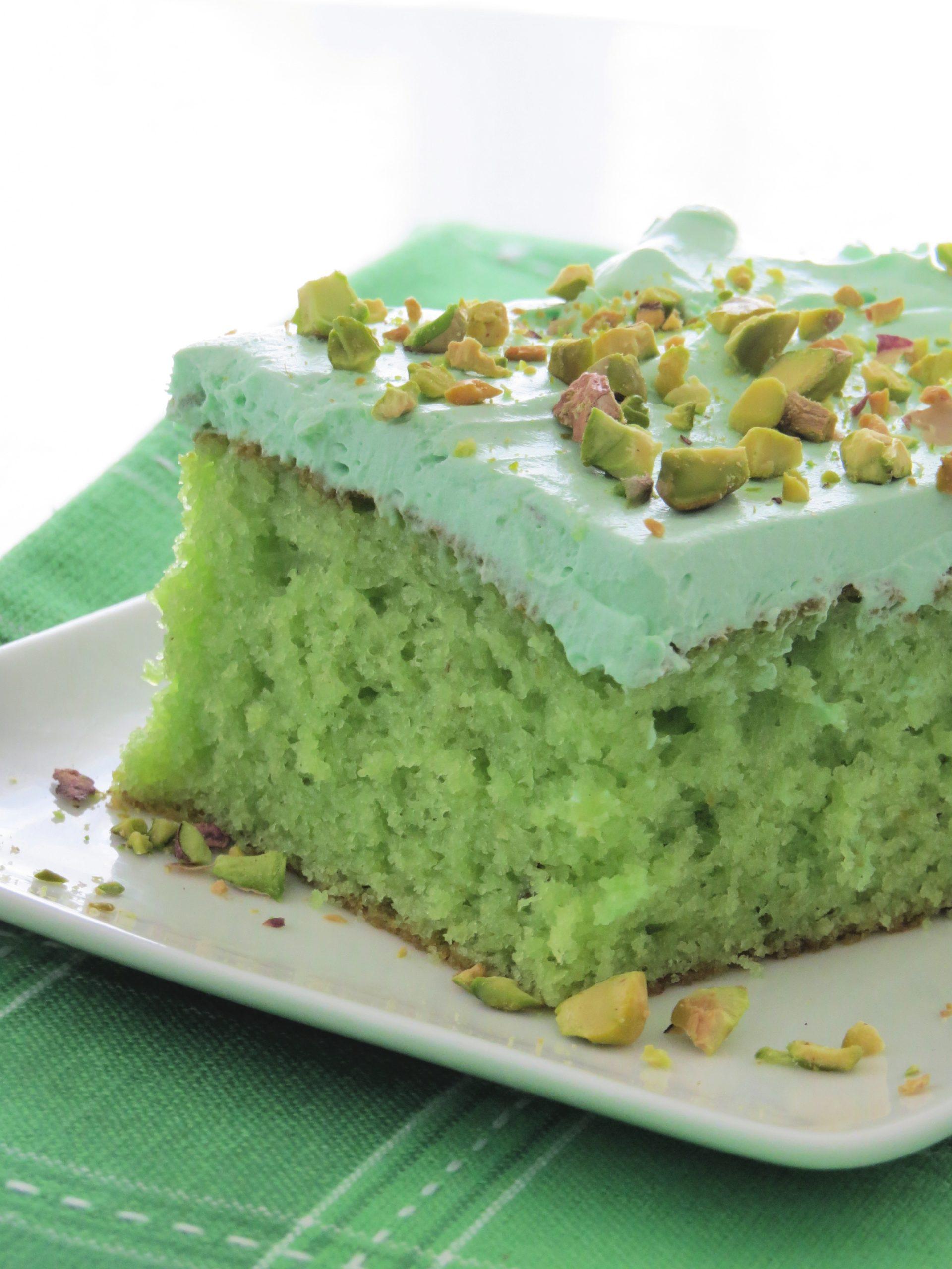 Easy Pistachio Pudding Cake Written Reality