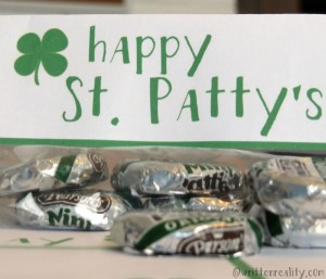St. Patrick's Day Treat Printables